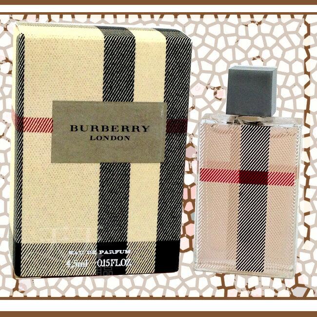 【送禮自用】BURBERRY 倫敦女小香水 4.5ml [82959] ::WOMAN HOUSE::
