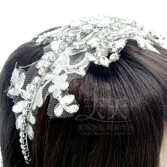 胭脂新娘 頭花髮鑽飾 IC1758 ^~91603^~ ::WOMAN HOUSE::