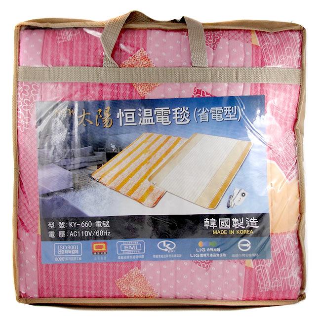 太陽 恆溫電毯省電型 保證韓國製造 雙人 [94167] ::WOMAN HOUSE::