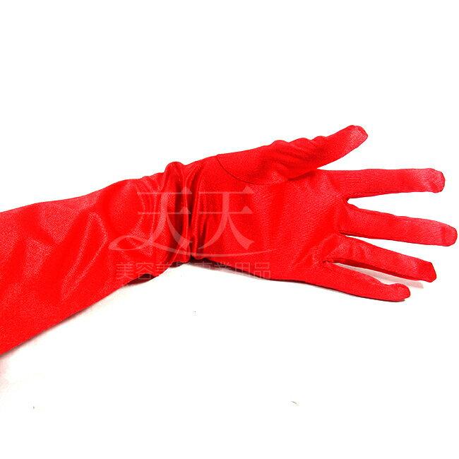 新娘手套絲質絲質素面 ^(長^)大紅色 ^~98564^~ ::WOMAN HOUSE::