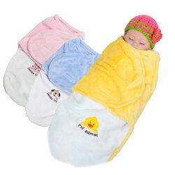 新生兒包巾 Lambs 法蘭絨嬰兒包巾 懶人簡易包巾 推車蓋毯 RF1601