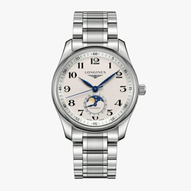 LONGINES 浪琴 L29094786 名匠系列月相紳士腕錶 40mm