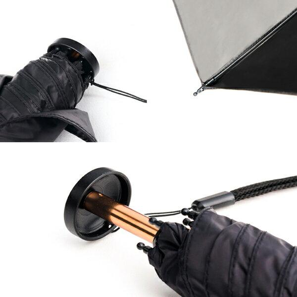 極輕 超迷你深金屬漆手開折傘 防雨防曬 一甩即乾 130g 4