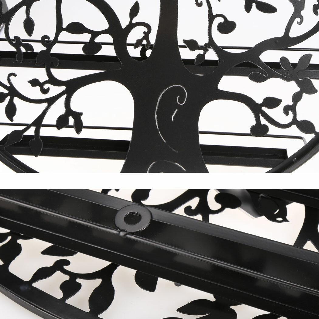 Art Metal Wall Mount 5 Layers Nail Polish Display Rack Nail Polish Holder 4