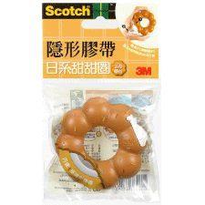 3M Scotch日系甜甜圈造型膠台