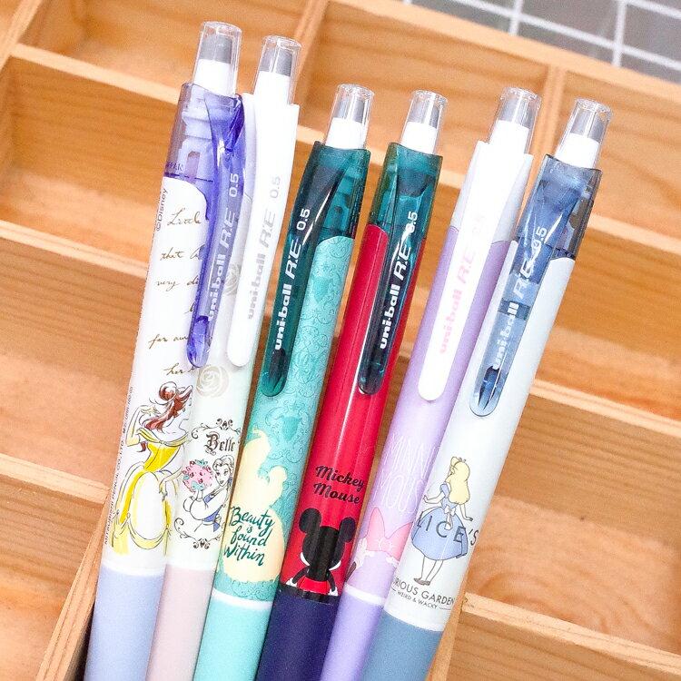 PGS7 日本迪士尼系列商品 - 日貨 三菱 uni 迪士尼 200D 擦擦筆 (0.5mm) 愛麗絲 貝兒【SHJ71263】