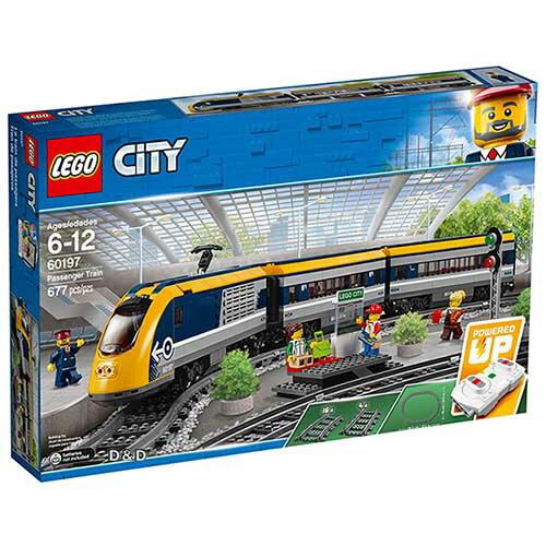 樂高積木LEGO《LT60197》2018年CITY城市系列-客運列車