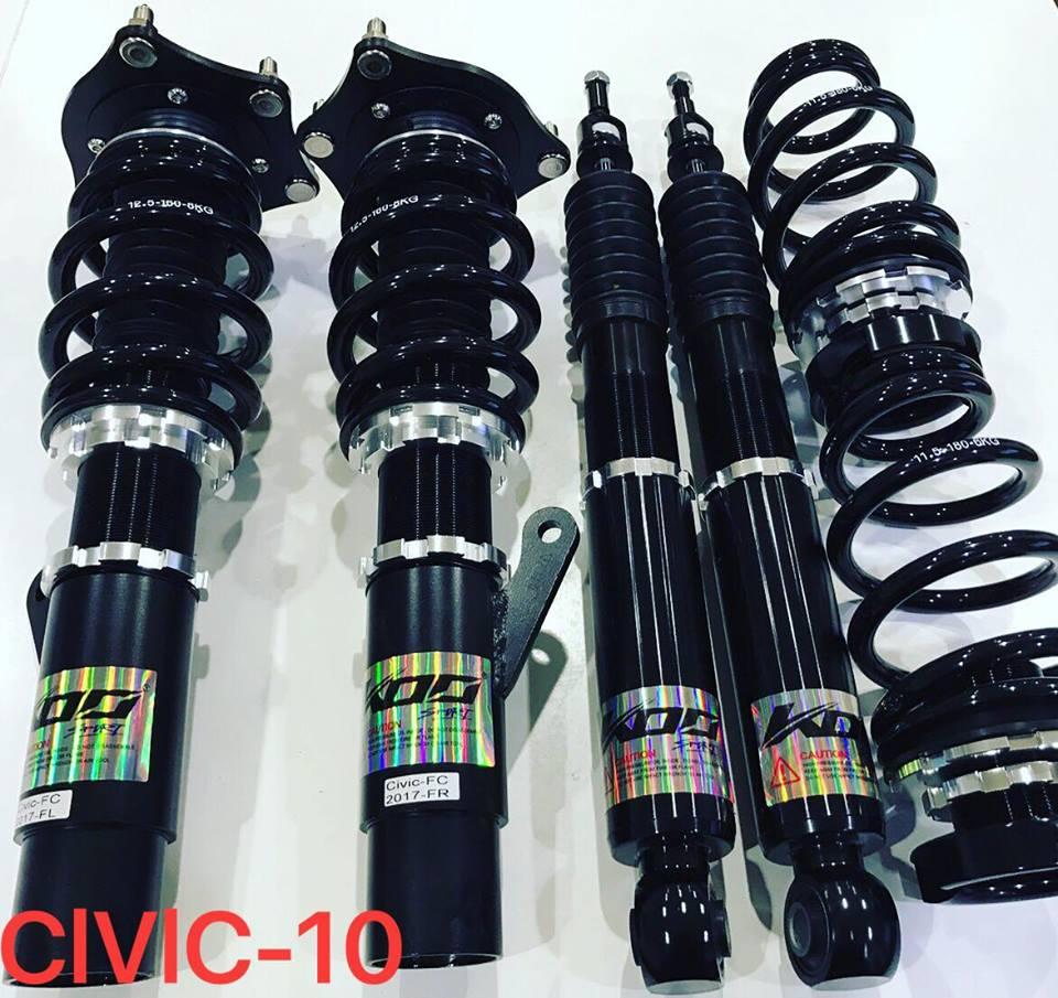 HONDA 喜美 CIVIC 10代  專用 KOO sport 高性能可調式避震器 (運動版)