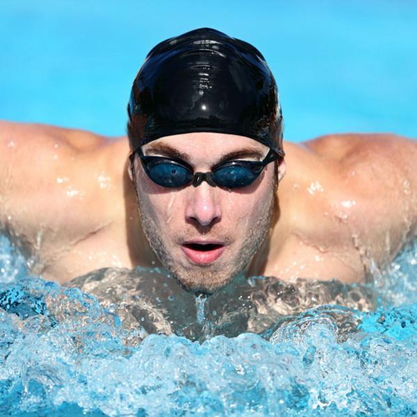 Unisex Adult UV Shield Anti-Fog Underwater Swimming Glasses Goggle 3