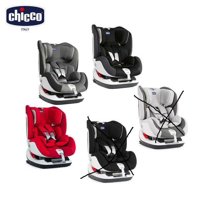 chicco Seat up 012 Isofix 安全汽座 / 搖滾黑 / 自信紅 / 煙燻灰  『121婦嬰用品館』 1