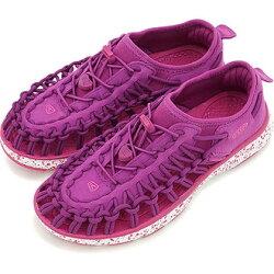 ├登山樂┤美國 KEEN UNEEK O2 KIDS 童 編織涼鞋-草莓 雪花點點 # 1016665