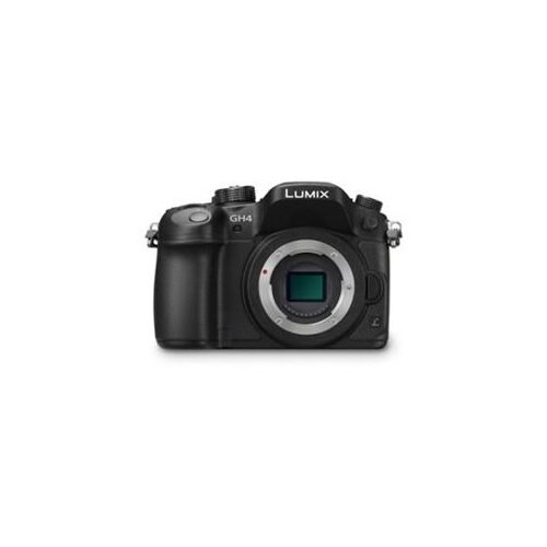 "Panasonic Lumix DMC-GH4 16.1 Megapixel Mirrorless Camera - Black - 3"" Touchscreen OLED - 16:9 - 4x - 4608 x 3456 Image - 4096 x 2160 Video - HDMI - PictBridge - HD Movie Mode - Wireless LAN 1"