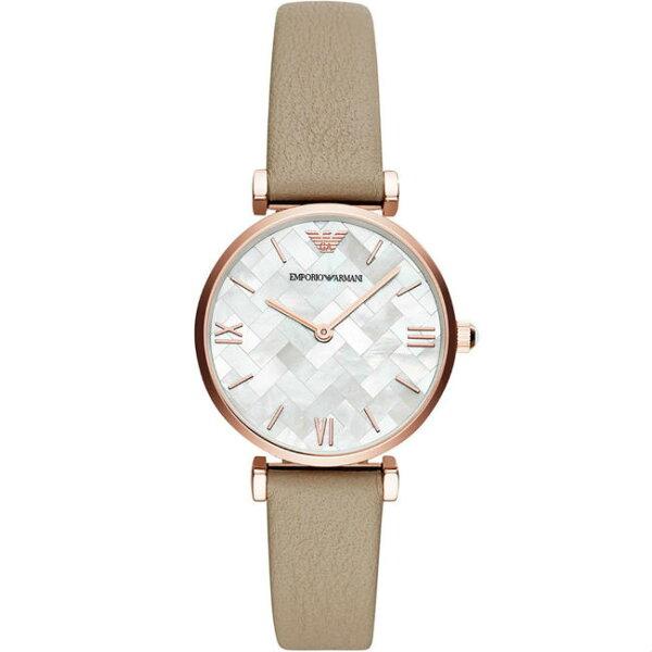 EMPORIOARMANI亞曼尼AR11111經典格紋時尚女仕腕錶32mm