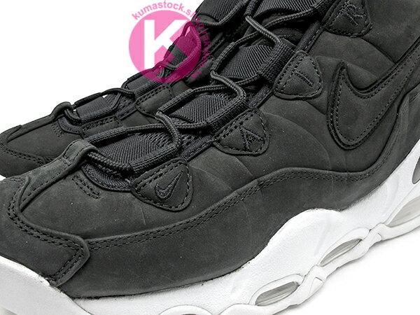2016 全腳掌氣墊 籃球鞋 經典復刻 NIKE AIR MAX UPTEMPO 12 SOLES PACK 黑白 牛巴戈 全氣墊 海軍上將 David Robinson 代言 96 1996 (311090-005) 0117P 2