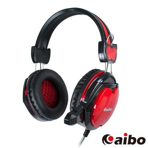aibo全罩式電競耳機麥克風頭戴式電競耳機電腦用耳麥重低音耳機全罩式耳機耳罩式耳機