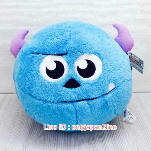 【真愛日本】17020300003暖手枕-12吋球球毛怪    迪士尼 怪獸電力公司 怪獸大學   暖手枕  靠枕  抱枕