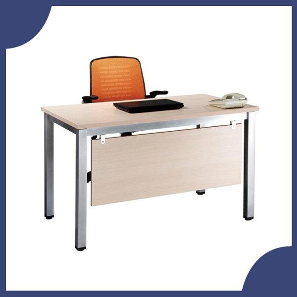 『商款熱銷款』【辦公家具】TSA-120白橡木烤銀方形4E辦公桌辦公桌書桌桌子