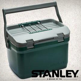 【Stanley 美國】Coolers 冰桶 保鮮桶 保冰箱 手提冰箱 綠色 (10-01623) 【容量15.1L】