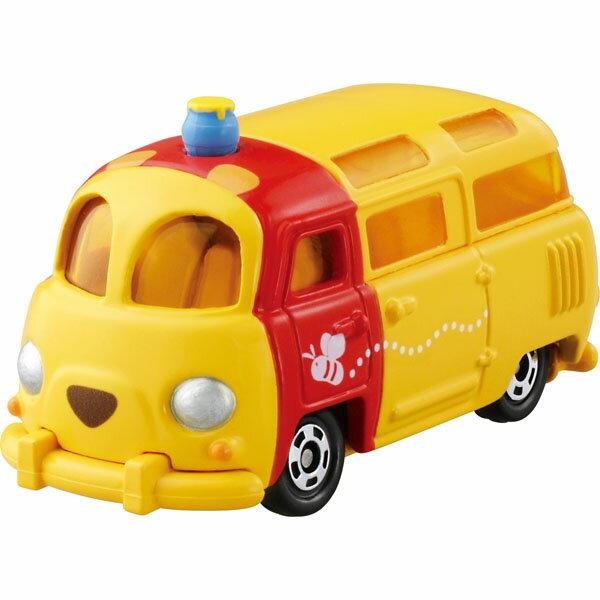 【真愛日本】15080700003TOMY車-維尼麵包車 迪士尼 小熊維尼 POOH 維尼熊 玩具車 收藏 擺飾