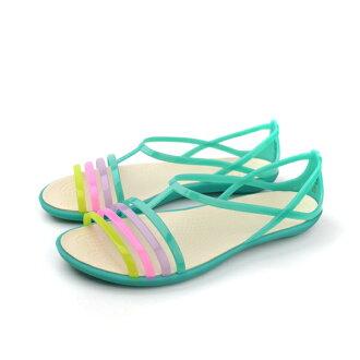 Crocs 涼鞋 綠 女款 no373