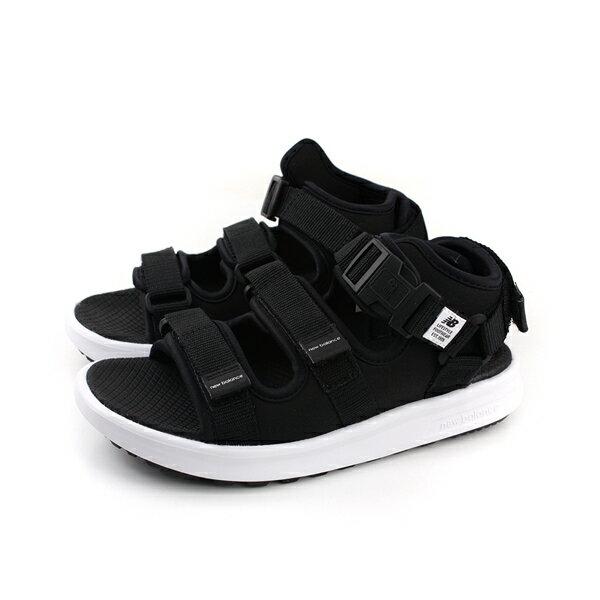 NEWBALANCE運動涼鞋黑男鞋SD750BK-Dno404