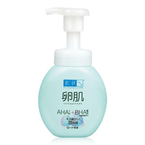 ROHTO肌研 卵肌溫和去角質泡洗顏 160ml ☆艾莉莎ELS☆