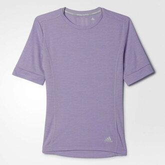 Adidas SUPERNOVA 女裝 上衣 短袖 慢跑 透氣 排汗 紫色 【運動世界】 AK2105├【1101-1130】單筆訂單滿700折100★結帳輸入序號『loveyou-beauty』┤