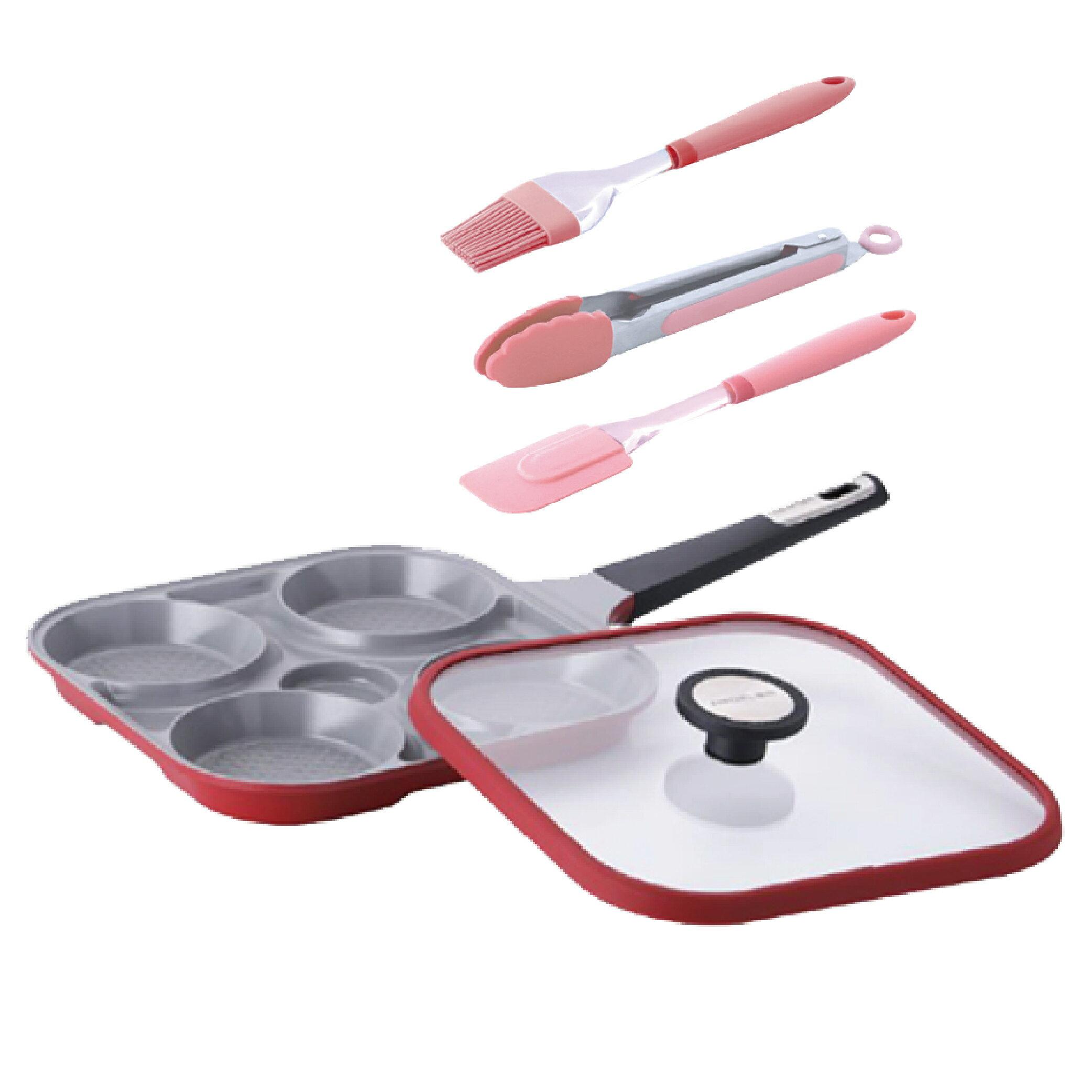 韓國NEOFLAM Steam Plus Pan烹飪神器(加碼再贈矽膠烘焙調理3件組)