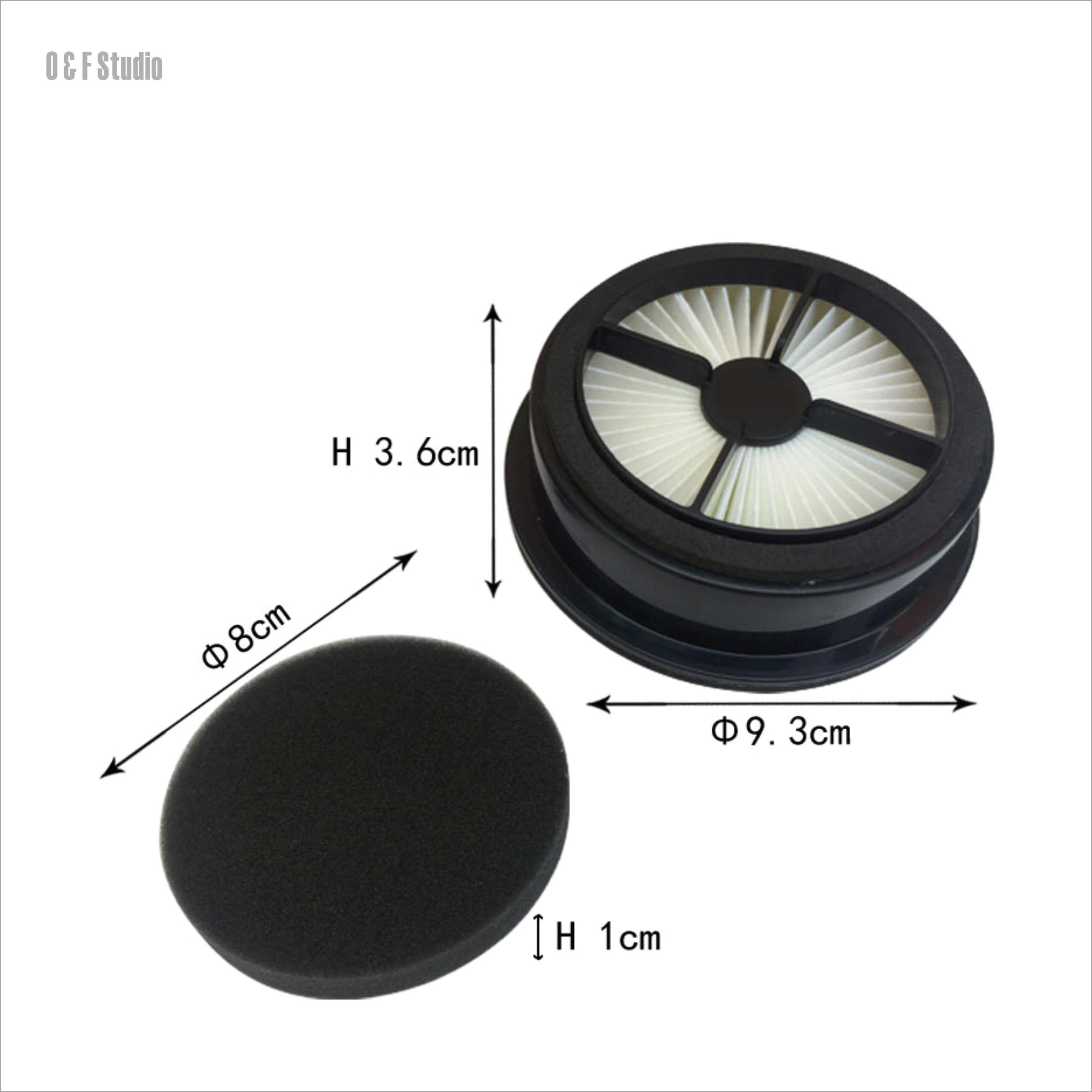 吸塵器前置濾網(1入) 適用於 Dirt Devil F44 UD20015...UD20020 【居家達人DD01 】