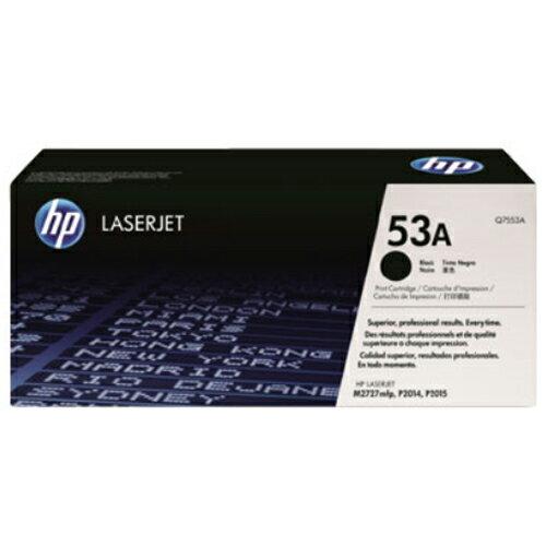【HP 碳粉匣】Q7553A / 53A 黑色原廠碳粉匣