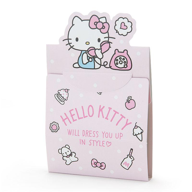 18051800013 日本製自黏便箋-KT加ACO 凱蒂貓 kitty 便利貼 便條紙 文具 真愛日本
