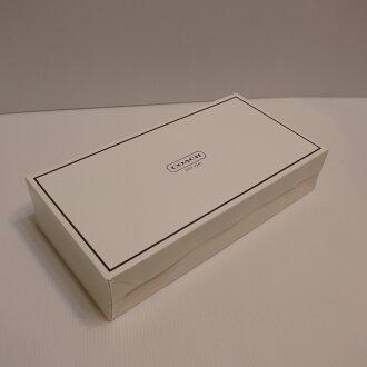 COACH大手拿包紙盒--白