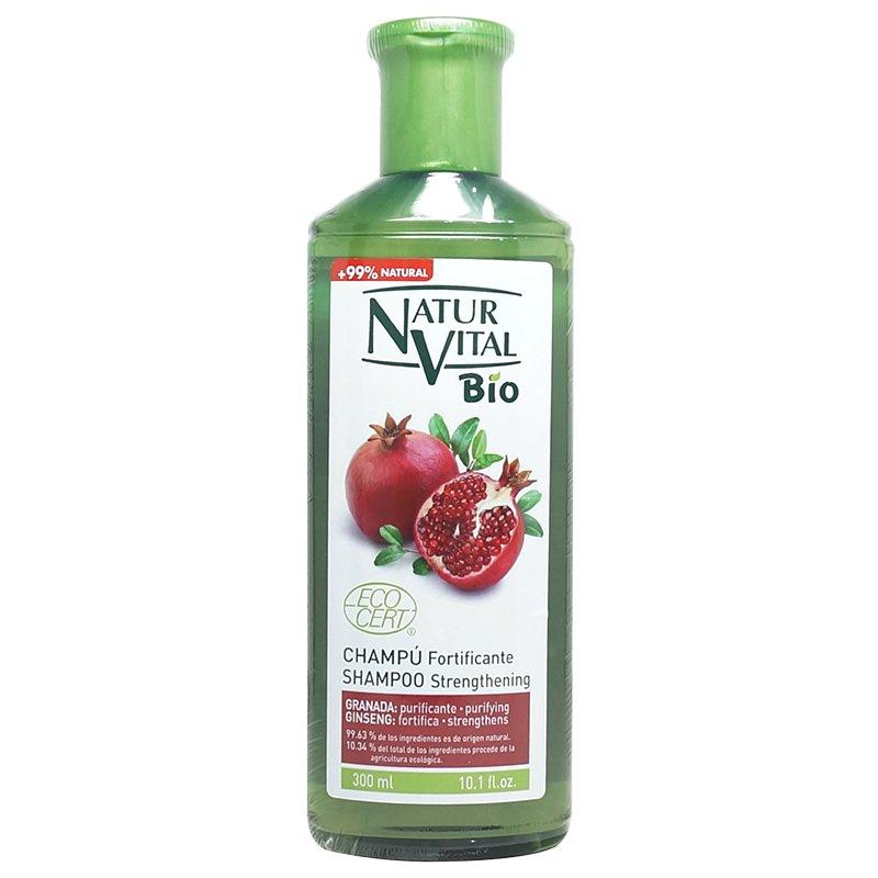 綠色生機健康館 NaturVital Bio~石榴強韌滋養洗髮精300ml/ 罐 ~特惠中~