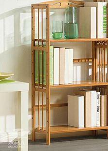 書架 木馬人簡易書架收納置物架簡約 實木多層落地兒童桌上學生書櫃 mks