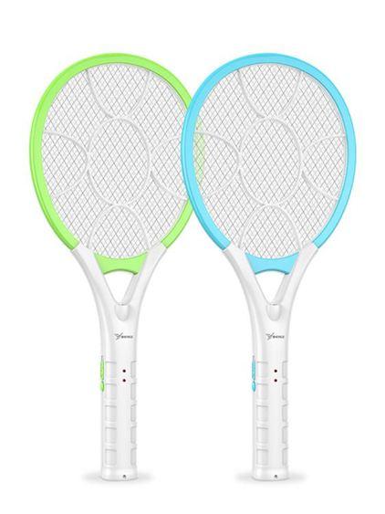 電蚊拍 電蚊拍充電式家用電蒼蠅拍強力安全多功能電蚊子拍電蠅拍 凱斯盾數位3C