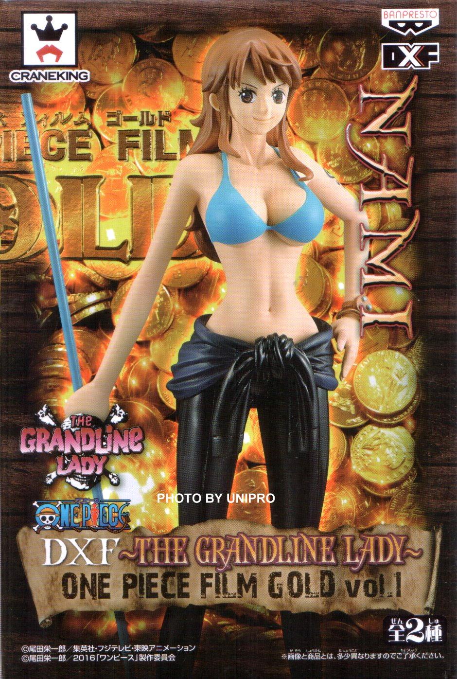 台灣代理版 電影版 DXF THE GRANDLINE LADY ONE PIECE FILM GOLD VOL.1 單售 娜美 NAMI 海賊王 航海王 公仔