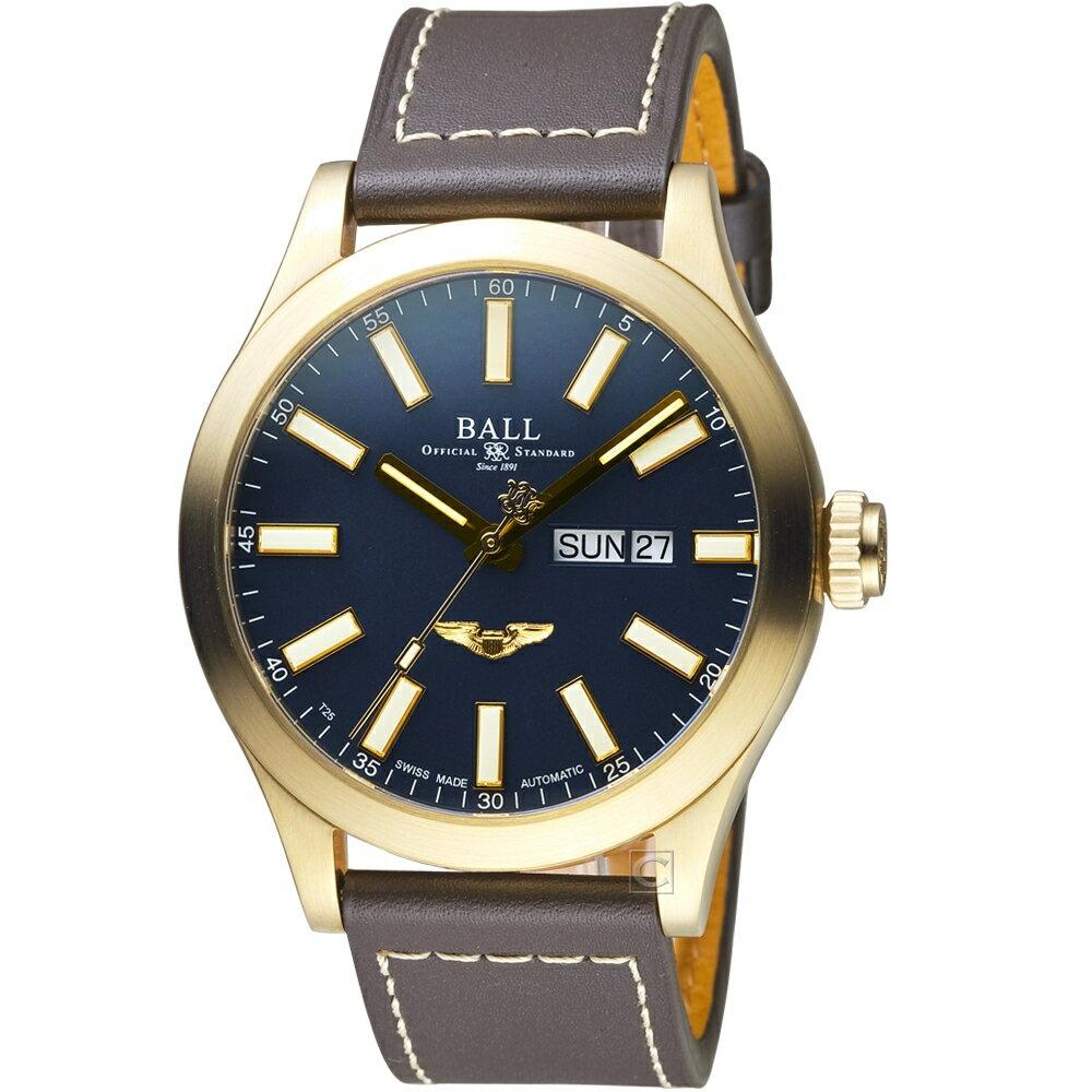 寶時鐘錶 BALL 波爾錶 Engineer III Marvelight青銅星機械錶   NM2186C-L4J-BE