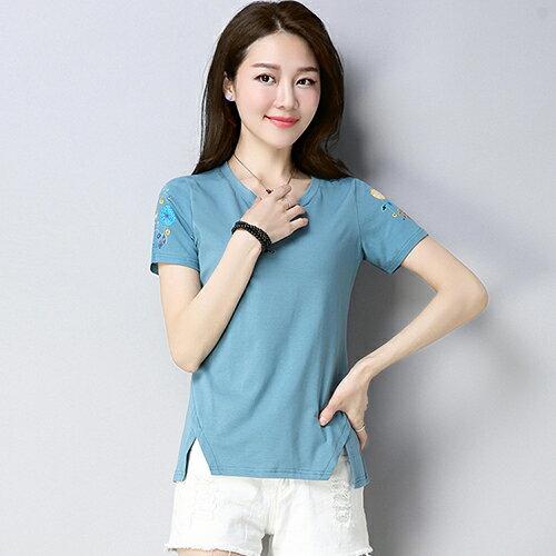 修身印花時尚T恤(5色M~4XL)*ORead* 0