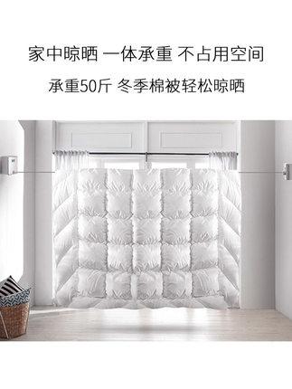 伸縮晾衣繩 涼衣繩收縮隱形晾衣繩架室內免打孔家用浴室鋼絲伸縮公寓晾衣神器『MY3850』