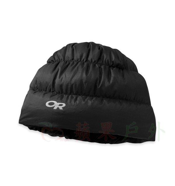 【【蘋果戶外】】Outdoor Research OR243485 0001 Transcendent Beanie 時尚黑 超輕量透氣防潑水 保暖羽毛帽 羽絨帽 保暖帽 Pertex 81810