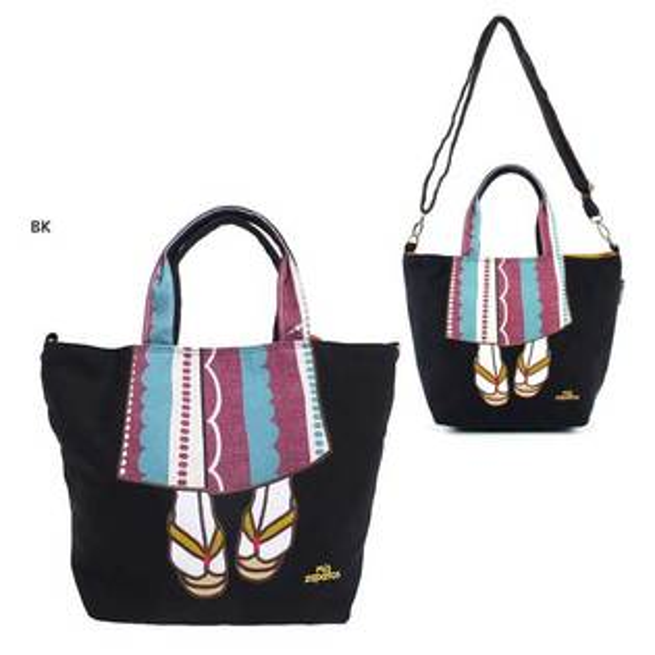 miszapatos和風浴衣版黑色手提包肩包側背包日本帶回正版商品
