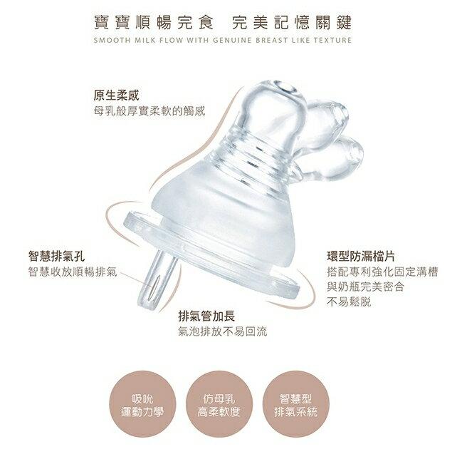 【小獅王辛巴】母乳記憶防脹氣寬口十字孔奶嘴(XL孔4入)