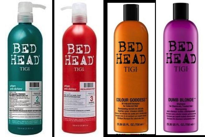 TIGI BED HEAD 摩登重建 / 摩登健康 / 金髮尤物 / 色彩女神  洗髮精 750ml - 限時優惠好康折扣