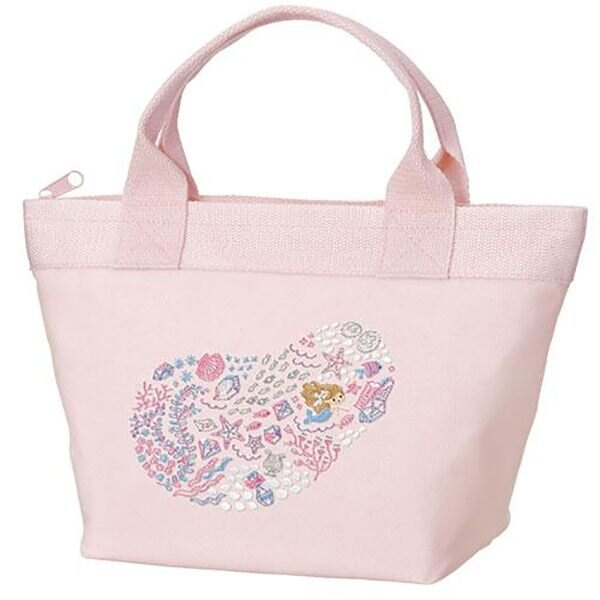 【小美人魚手提袋】迪士尼 小美人魚 便當袋 手提袋 保溫 保冷  該該貝比  ☆