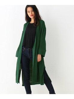 OZOC 綁帶 開衫長版長袖 毛衣 針織衫 外套 日本必買 日本直送 代購/日貨/雜誌