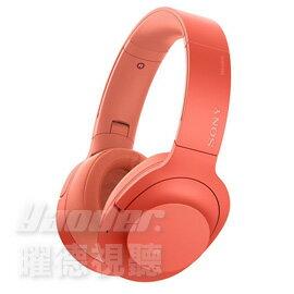 <br/><br/>  【曜德★好禮回饋】SONY WH-H900N 紅 數位降躁觸控式 無線藍牙耳罩式耳機 / 免運 / 送收納袋+帆布手提袋<br/><br/>