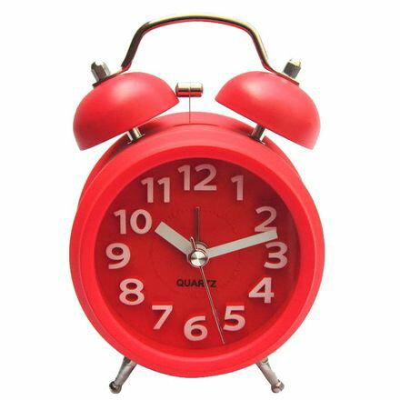 小玩子 無敵王 立體數字鬧鐘(小圓) 靜音 貪睡 遲到 SV-1306