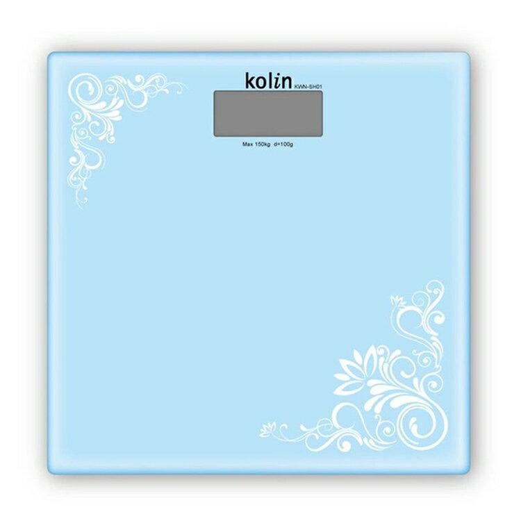 小玩子 歌林 kolin 時尚 電子式 體重計 輕巧 安全 玻璃 止滑 自動關機 KWN-SH01