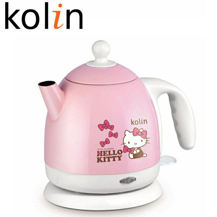 小玩子 歌林 Hello Kitty 1.0L 不鏽鋼 快煮壺 卡哇伊 KPK-MNR1041