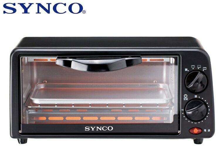 小玩子 SYNCO 6公升 雙旋鈕 電烤箱 烘烤 美味 料理 自動斷電 多樣化 SOV-6018